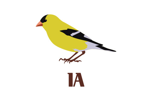 Download Free American Goldfinch Ia Svg Cut File By Creative Fabrica Crafts for Cricut Explore, Silhouette and other cutting machines.