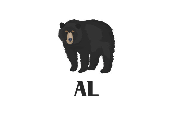 Download Free American Black Bear Al Svg Cut File By Creative Fabrica Crafts SVG Cut Files