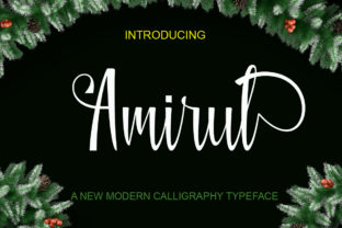 Amirul Font By Ogex86