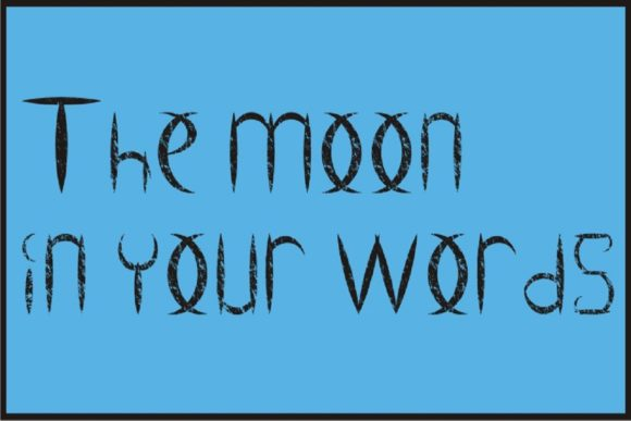 Ancient Moon Font By Gustavo Lucero Image 2