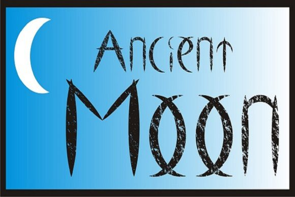 Print on Demand: Ancient Moon Decorative Font By Gustavo Lucero