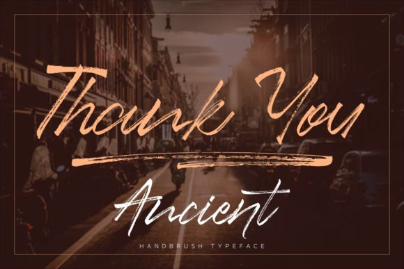 Print on Demand: Ancient Script & Handwritten Font By studioashshiddiq - Image 11