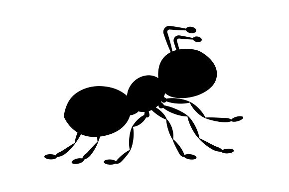 Download Free Ant Silhouette Svg Cut File By Creative Fabrica Crafts for Cricut Explore, Silhouette and other cutting machines.