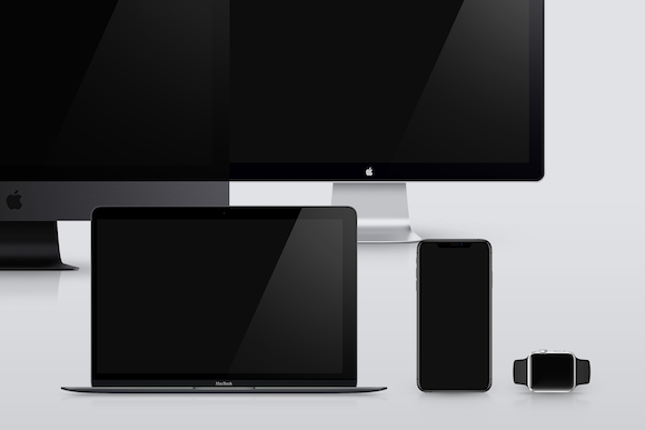 Apple Devices Mockups Bundle Graphic Product Mockups By unio.creativesolutions - Image 4