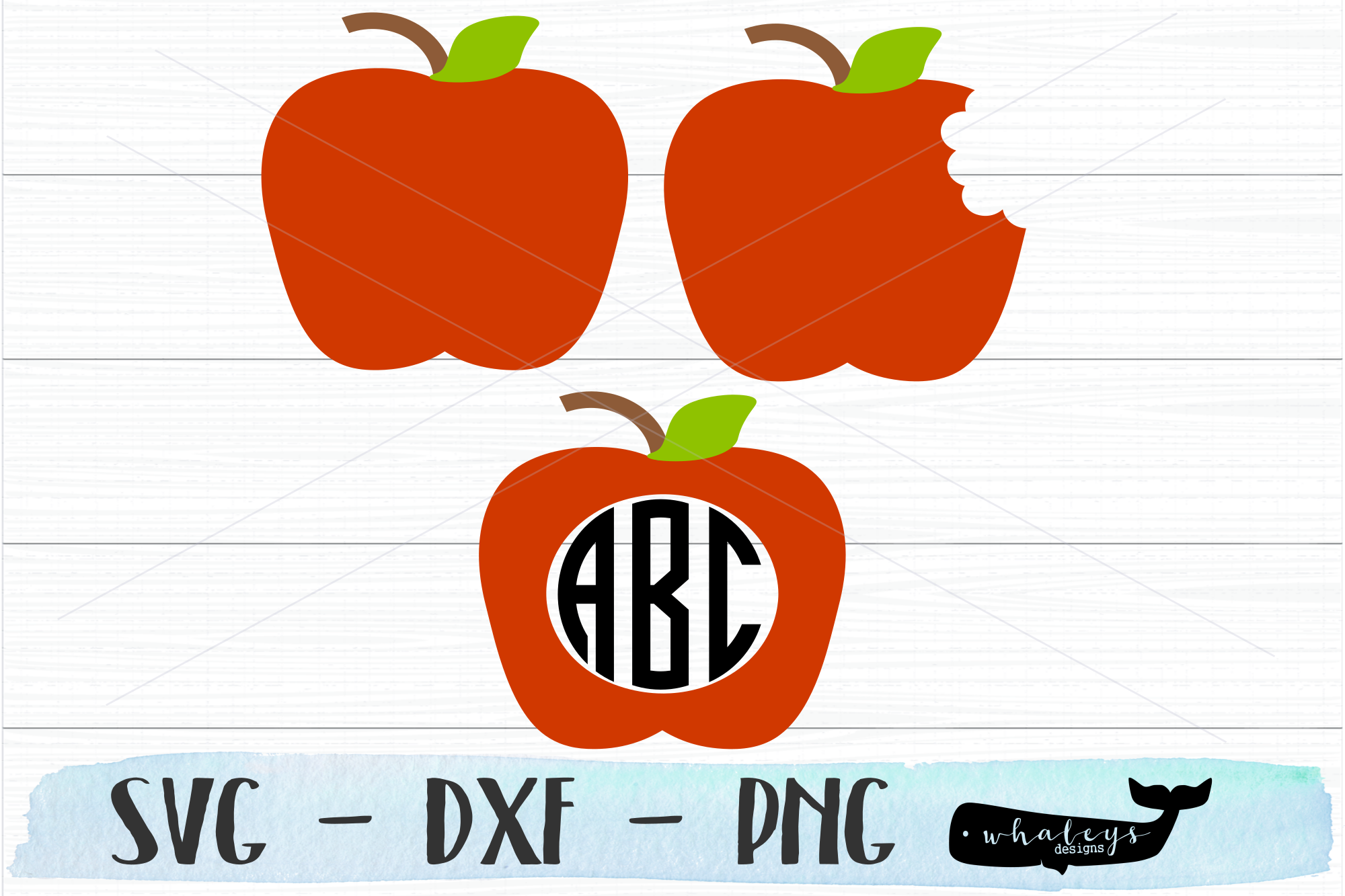 Download Free Apple Teacher Graphic By Whaleysdesigns Creative Fabrica for Cricut Explore, Silhouette and other cutting machines.