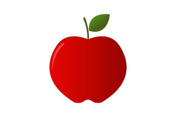 Download Free Apple Icon Graphic By Marco Livolsi2014 Creative Fabrica for Cricut Explore, Silhouette and other cutting machines.