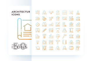Architecture Icons Graphic By Goodware.Std