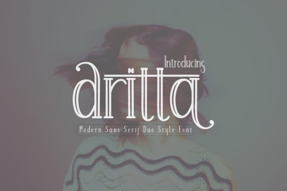 Print on Demand: Aritta Sans Serif Font By parawtype