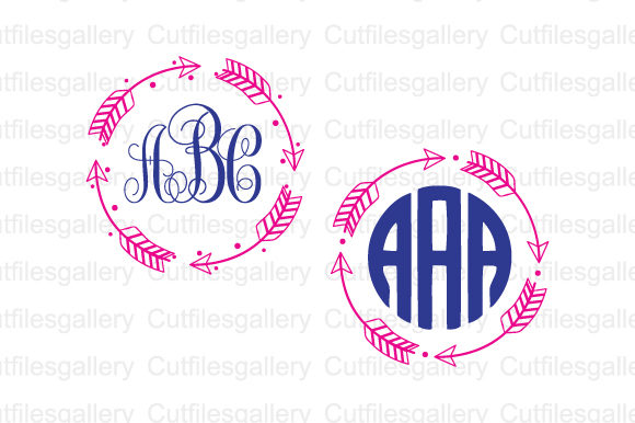 Download Free Arrow Circle Frame Svg Graphic By Cutfilesgallery Creative Fabrica for Cricut Explore, Silhouette and other cutting machines.