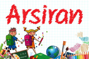 Arsiran Font By da_only_aan