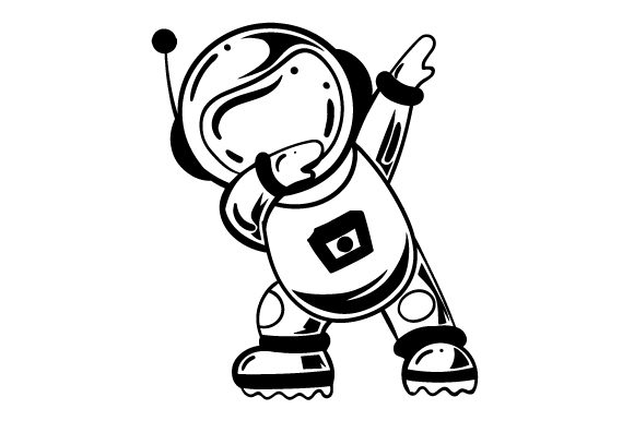 Download Free Astronaut Dabbing Svg Cut File By Creative Fabrica Crafts for Cricut Explore, Silhouette and other cutting machines.