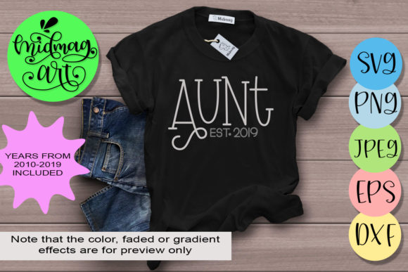 Aunt  Graphic Objects By MidmagArt