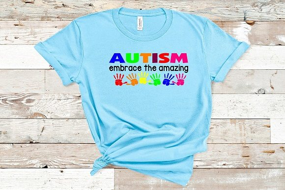 Autism Embrace the Amazing Graphic Crafts By Family Creations
