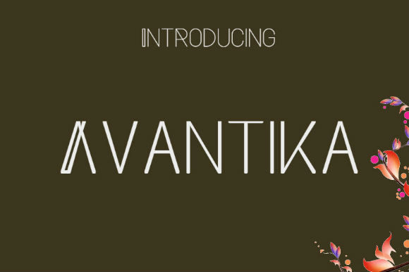 Print on Demand: Avantika Script & Handwritten Font By bansxcute