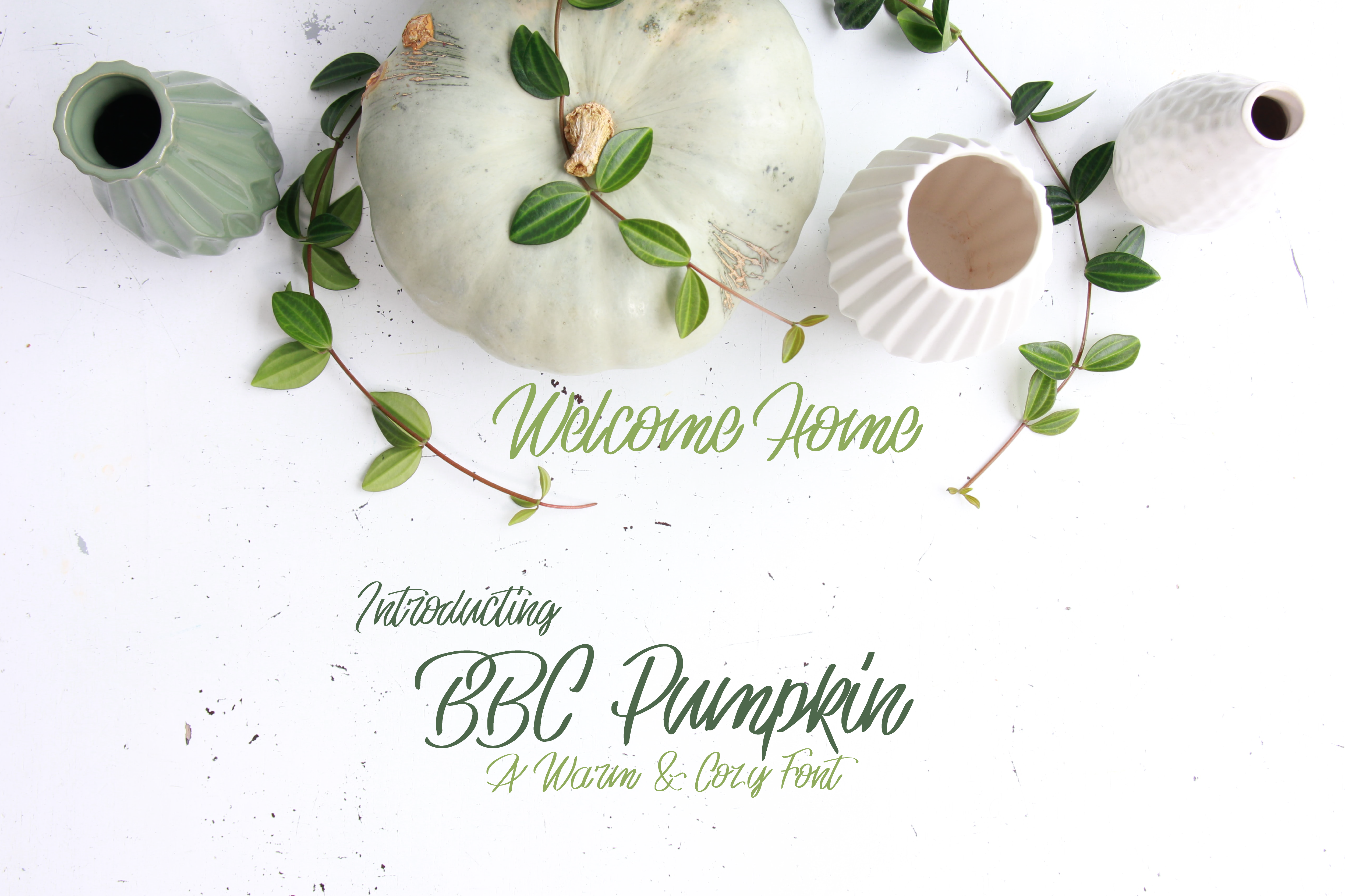 Download Free Bbc Pumpkin Font By Bellaboo Creative Fabrica for Cricut Explore, Silhouette and other cutting machines.