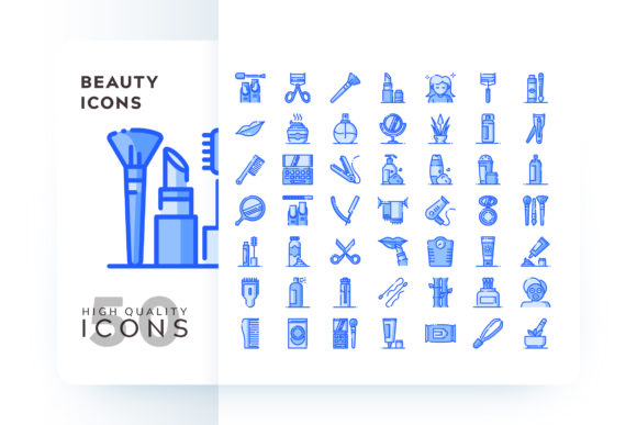 BEAUTY ICON Graphic Icons By Goodware.Std - Image 1