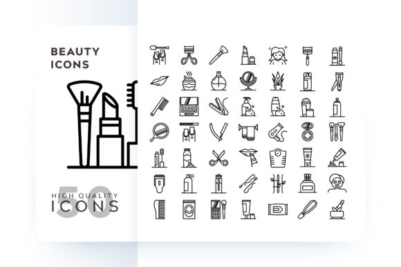 BEAUTY ICON Graphic Icons By Goodware.Std