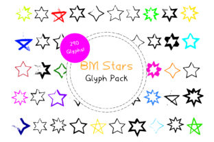 BM Stars Font By GraphicsBam Fonts