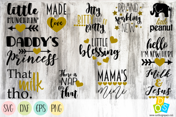 Baby Quotes Graphic Crafts By Our Design Space