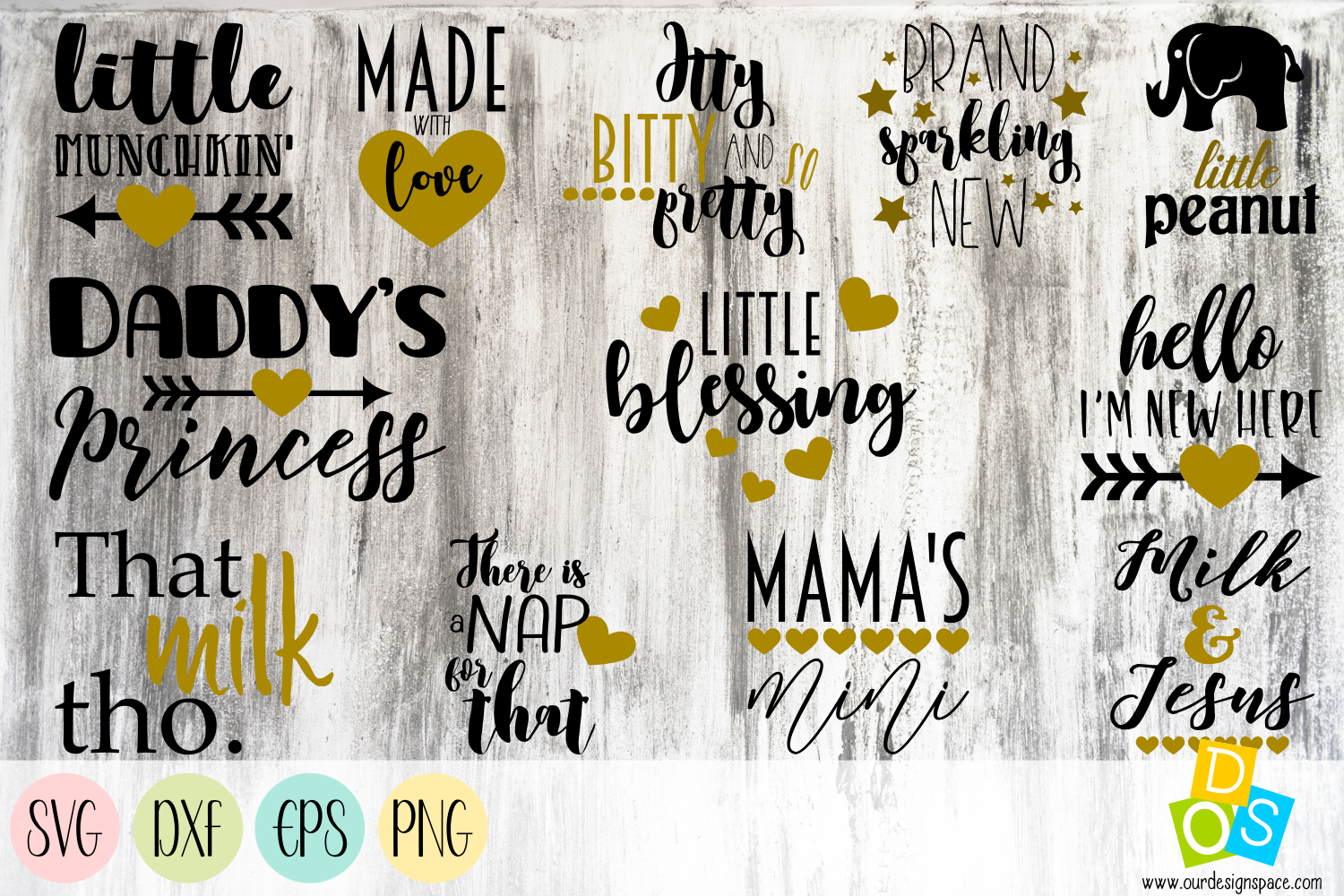Download Free Baby Quotes Graphic By Our Design Space Creative Fabrica for Cricut Explore, Silhouette and other cutting machines.