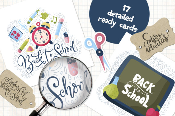Back to School. Big Graphic Set. Graphic By Red Ink Image 9