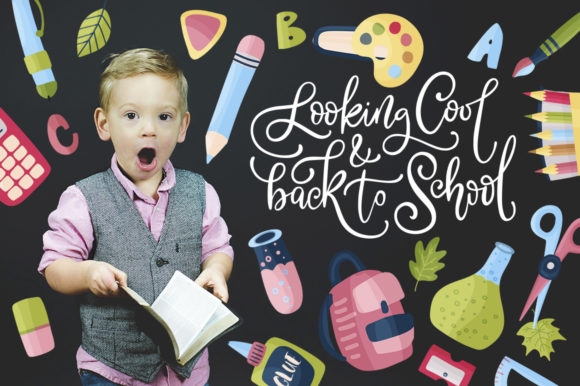 Back to School. Big Graphic Set. Graphic By Red Ink Image 10