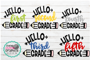 Back to School Bundle Graphic Crafts By OneStoneGraphics