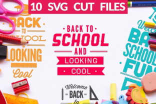 Back to School SVG Bundle Graphic By Craft-N-Cuts