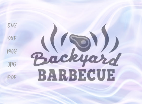 Backyard Barbecue Graphic By Digitals By Hanna Creative Fabrica