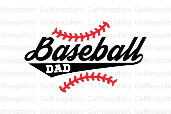 Download Free Baseball Dad Graphic By Cutfilesgallery Creative Fabrica for Cricut Explore, Silhouette and other cutting machines.