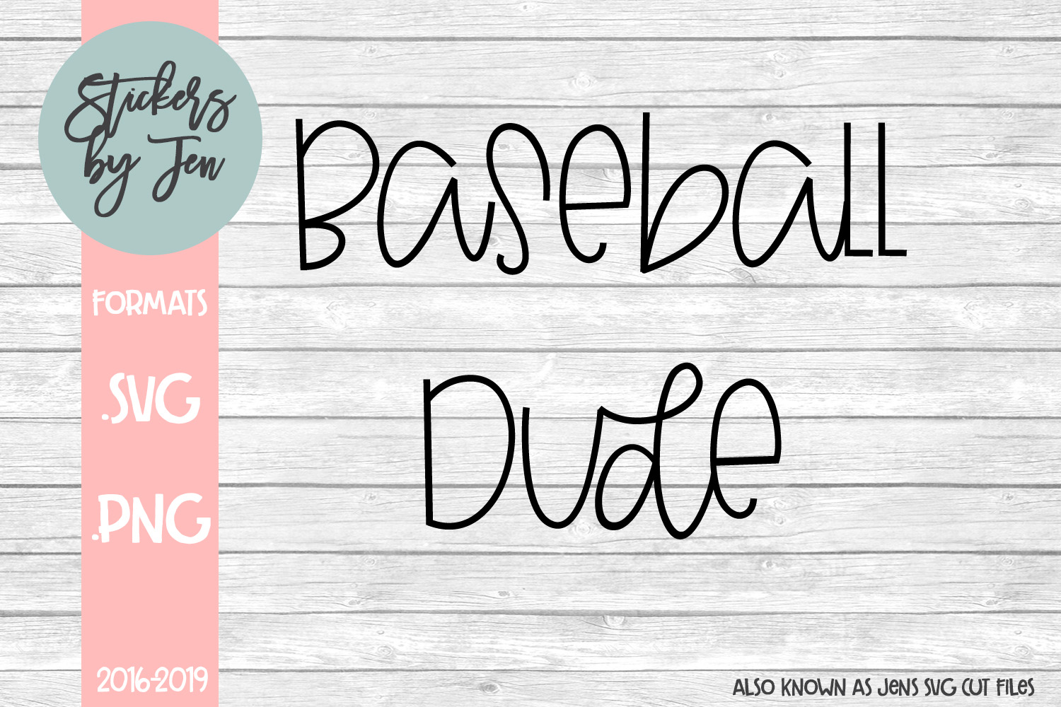 Download Free Baseball Dude Graphic By Stickers By Jennifer Creative Fabrica for Cricut Explore, Silhouette and other cutting machines.