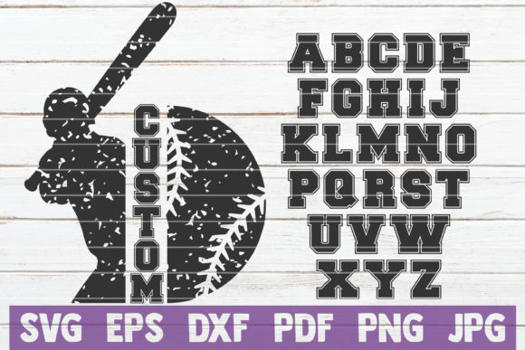 Baseball Frame SVG Cut File Graphic Graphic Templates By MintyMarshmallows - Image 1
