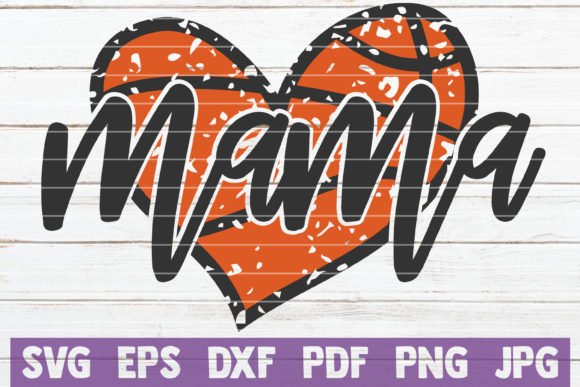 Basketball Mama SVG Cut File Graphic Graphic Templates By MintyMarshmallows - Image 1