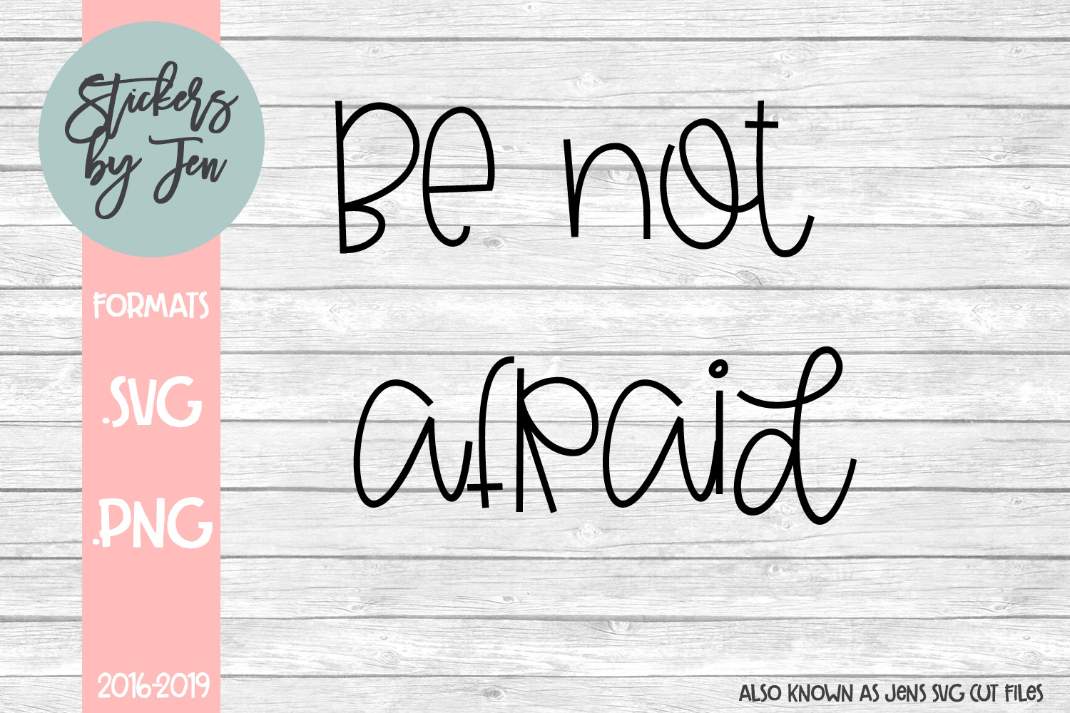 Download Free Be Not Afraid Svg Graphic By Jens Svg Cut Files Creative Fabrica for Cricut Explore, Silhouette and other cutting machines.