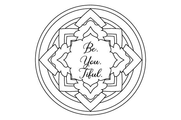 Be  You  Tiful  Coloring Page