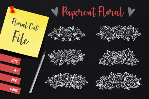 Download Free Floral Graphics And Illustration Graphic By Allmostudio SVG Cut Files