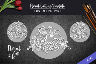 Beautiful Flower Graphic Crafts By AllmoStudio