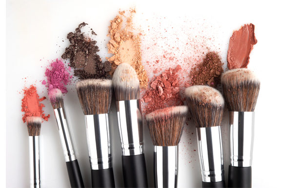 Beauty Brushes. Graphic Beauty & Fashion By Sasha_Brazhnik