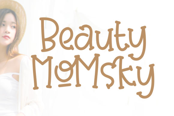 Print on Demand: Beauty Momsky Script & Handwritten Font By Keithzo (7NTypes)