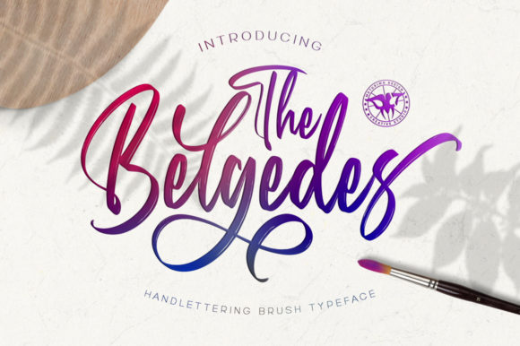 Print on Demand: Belgedes Script & Handwritten Font By motokiwo