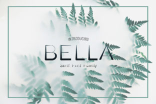 Bella Family Serif Font By Awesome Templates