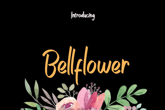 Print on Demand: Bellflower Script & Handwritten Font By bansxcute