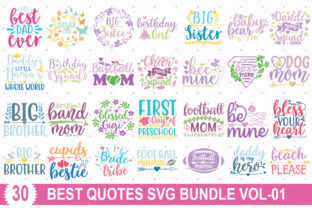 Best Quotes Bundle Vol-01 Graphic Print Templates By Graphicsqueen