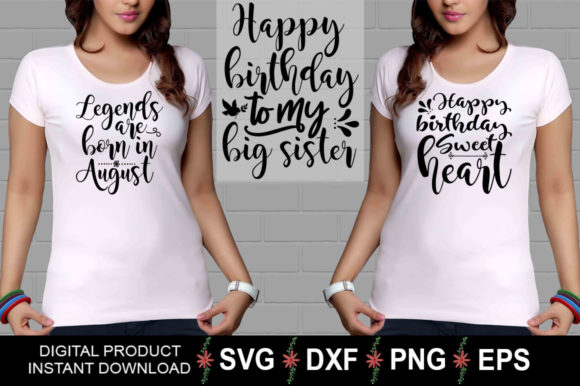Download Free Birthday Design Bundle Graphic By Aesthetic Studio Creative for Cricut Explore, Silhouette and other cutting machines.