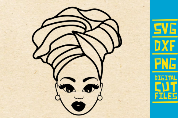 Download Free Black Fashion Headband Graphic By Svgyeahyouknowme Creative for Cricut Explore, Silhouette and other cutting machines.