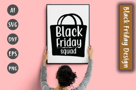 Download Free Black Friday Squad Svg Design Graphic By Creativeart Creative SVG Cut Files