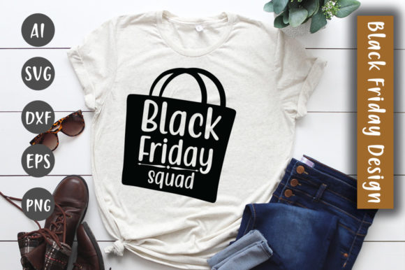Download Free Black Friday Squad Svg Design Graphic By Creativeart Creative for Cricut Explore, Silhouette and other cutting machines.