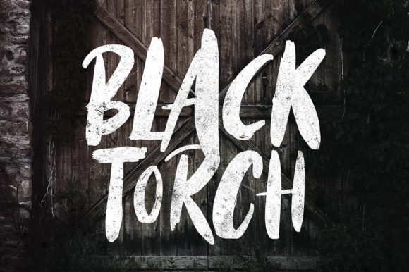 Black Torch Font By Weape Design Image 1