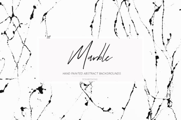 Download Free Black White Marble Backgrounds Graphic By Bonadesigns Creative for Cricut Explore, Silhouette and other cutting machines.