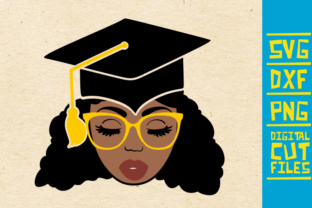 Download Free Black And Educated Girl Graphic By Svgyeahyouknowme Creative for Cricut Explore, Silhouette and other cutting machines.